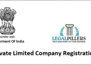 Private limited company registration in india