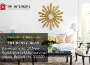 Best home decor shops in jaipur  -  rr  interiors