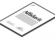 Make free online affidavit in india