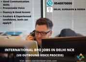 International bpo job in delhi ncr