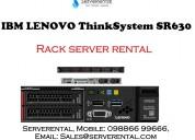 Rental services for it hardware  ibm sr630