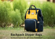 Why parents must have a backpack diaper bag?