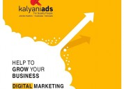Digital marketing company in tirupati, kalyani ads