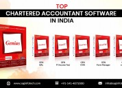 Genius: best chartered accountant software in tax