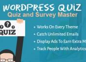 Create a unique quiz and attract your visitors