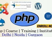 Join php training at sla consultants noida