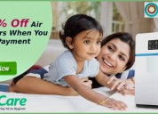 Get 5% off air purifiers when you make payment onl