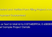 Earn daily guaranteed income on form filling jobs