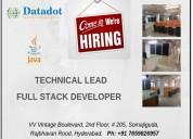 Full stack developer -java