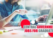 Government jobs in bank, railway for graduates
