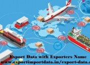 Export data with exporters name