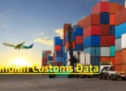 Indian customs data