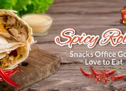 Spicy rolls in bangalore – snacks office goers lov
