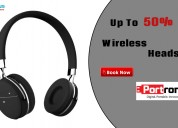 Get up to 50% off wireless headset