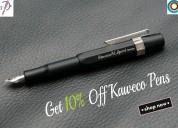Get 10% off kaweco pens