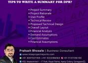 How do you write a summary for dpr?