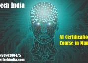 Advanced artificial intelligence certification