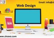 Web design company|zinavo