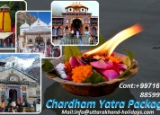 Book chardham yatra package with uhpl