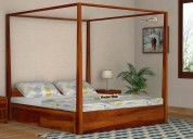 Get sale upto 55% off on all cots - wooden street