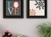 Stylish wall arts in india at wooden street
