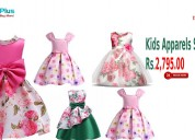 Kids apparels start from rs.2,795.00