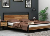 Choose the latest double bed online @ woodenstreet