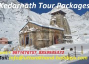 Book your kedarnath yatra package with uhpl