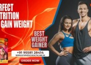 Weight gain supplements for men