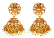 Stylish imitation jhumka earrings at 20% off