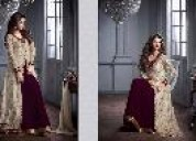 Designer dresses - sarees - traditional lehenga at