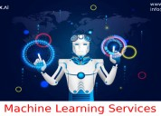 Machine learning services in artificial intellige