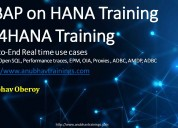 Abap on hana training