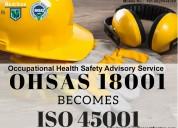 Iso 45001 certification in mumbai