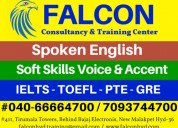 Ielts, pte and spoken english coaching center in h