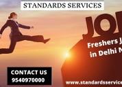 Freshers job in delhi