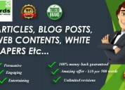 Top content writing company in bangalore - towards