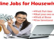  part time - full time - home based internet work