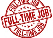Online part time and full time works for students