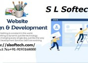 Website development and designing service