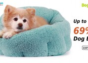 Up to 69% off dog beds at dogspot