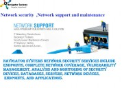 Network solutions|network maintenance and support