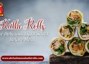 Kati rolls – the delicious light snack before meal