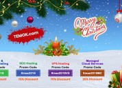 Christmas web hosting coupons | upto 75% off