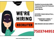 Hr recruiter jobs in delhi