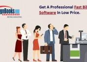 Get a professional fast billing software in low rs