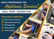 Home appliances repair services in abu dhabi dubai