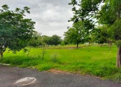 Open plot for sale in gated community