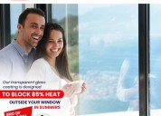Get anti-heat coating for glass surfaces!