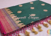 Banarsi pure silk saree in gurgaon
